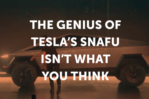 The Genius of Tesla's Snafu Isn't What You Think
